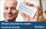 Allows Anyone to Create Musical Scores - ScoreCloud in Forbes