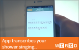 App Transcribes your Shower Singing - ScoreCloud in Wired