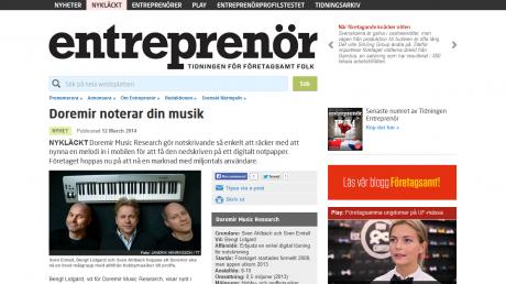 2014-03 - Entreprenör
